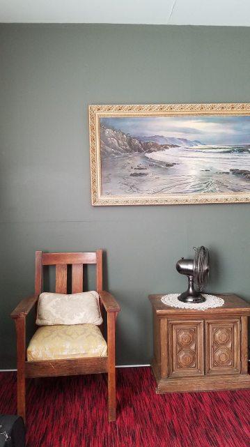 A room at the Burlington Hotel