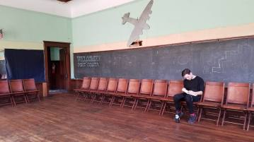 Inside the Port Costa School