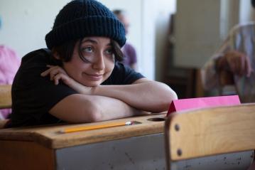 Linda Maria Giron as Benny in PORT STORIES. Photo by Serena Morelli.